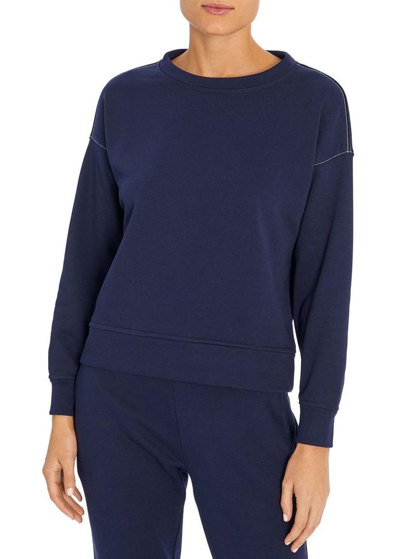 Three Dots French Terry Boxy Sweatshirt