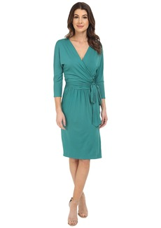 Three Dots Grete Wrap Dress