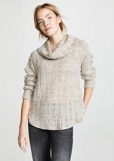 Three Dots Heavy Melange Sweater