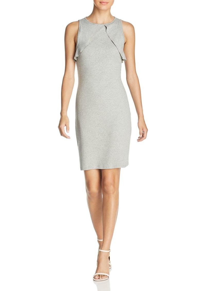 Three Dots Heritage Knit Overlay Dress