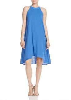 Three Dots High/Low Halter Dress