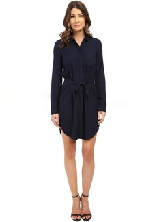 Three Dots Janelle Pocket Shirtdress