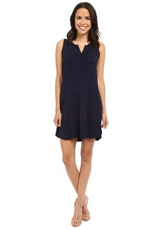 Three Dots Joanna Sleeveless Pocket Tee Dress