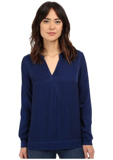 Three Dots Katharina Long Sleeve Blouse