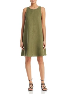 Three Dots Linen Shift Dress