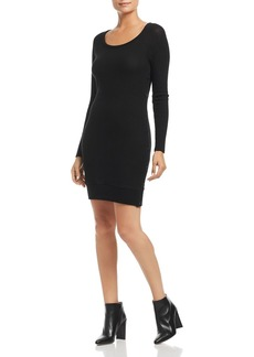 Three Dots Luxe Rib Dress