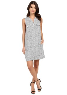 Three Dots Maggie-Sleeveless Shirtdress
