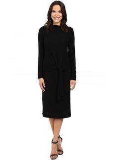 Three Dots Maivy - Midi Tie Front Dress