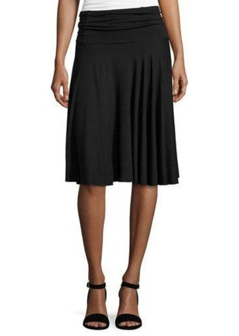 three dots three dots jersey a line skirt skirts