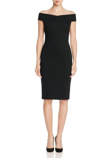 Three Dots Off-The-Shoulder Sheath Dress