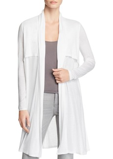 Three Dots Open Front Duster Cardigan
