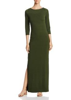 Three Dots Pinstripe Maxi Dress