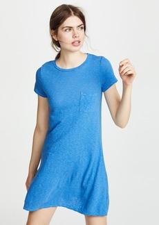 Three Dots Pocket Tee Dress