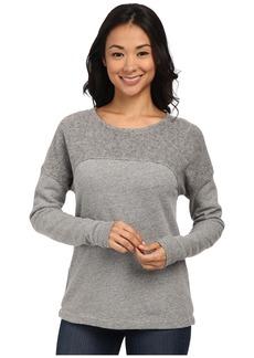Three Dots Reverse Panel Sweatshirt