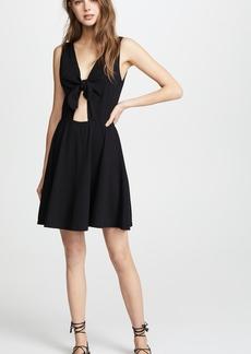 Three Dots Reversible Tie Dress
