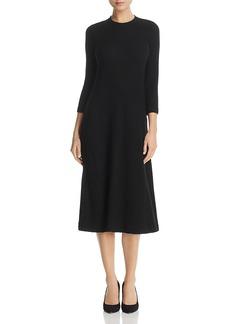 Three Dots Ribbed Midi Sweater Dress