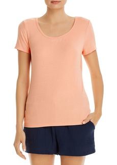Three Dots Ribbed Tee