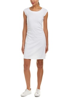 Three Dots Ruched Sheath Dress