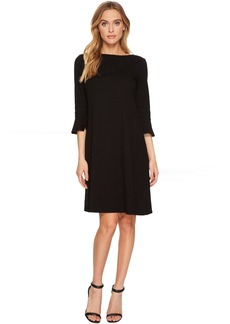 Ruffle Sleeve Dress