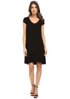 Three Dots Sally Cap Sleeve Dress