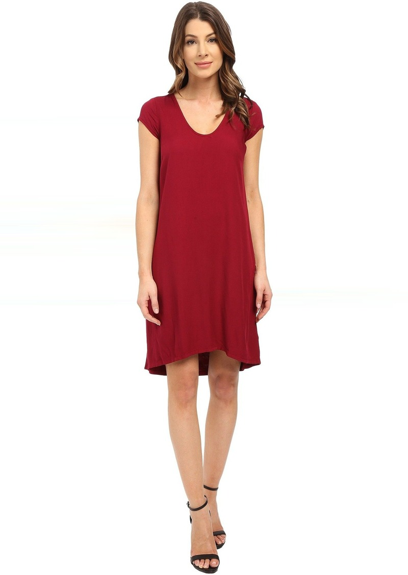 Three Dots Sally Cap Sleeve Dress