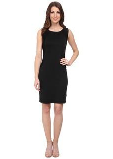 Three Dots Sleeveless Contrast Dress