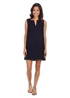 Three Dots Sleeveless Dress w/ Faux Pocket