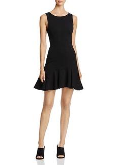 Three Dots Sleeveless Fit-and-Flare Dress