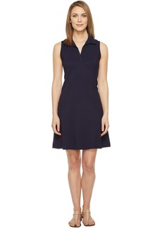 Three Dots Sleeveless Polo Dress