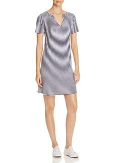 Three Dots Stripe Tunic Dress