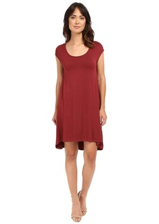 Three Dots Tracy Easy High-Low Dress