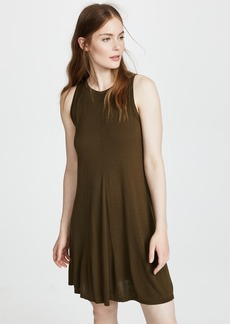 Three Dots Vintage Jersey Swing Dress