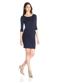 Three Dots Women's 2 Toned Layered Dress