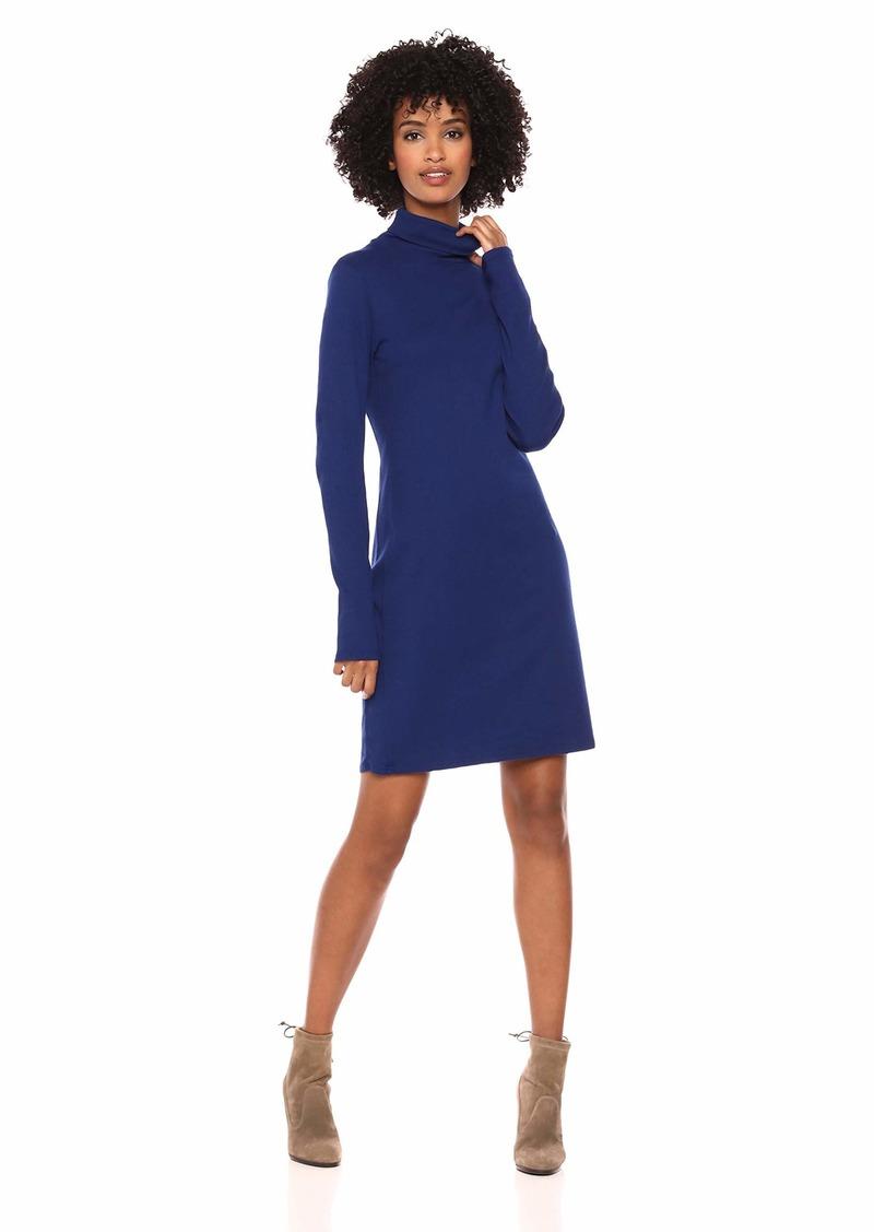 Three Dots Women's AA5836 Heritage Knit Turtleneck Dress