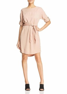 Three Dots Women's All Weather Twill Short Loose Dress  Extra Large