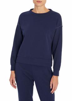 Three Dots Women's Boxy Pullover Sweatshirt