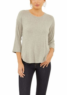 Three Dots Women's Brushed Pullover Sweater