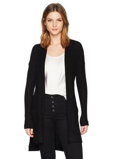 Three Dots Women's Brushed Sweater Loose Long Cardigan