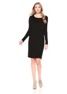 Three Dots Women's CI5859 Luxe Rib Dress