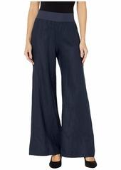 Three Dots Women's Classic Linen Full Length Pant