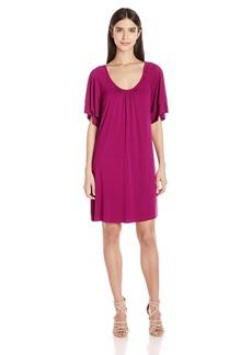 Three Dots Women's Classic Spring Dress  XL