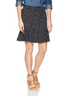 Three Dots Women's Confetti Dot Pull on Short Skirt  Extra Large
