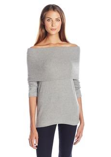 Three Dots Women's Corey Brushed Sweater (GRA)