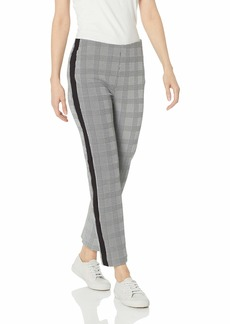 Three Dots Women's CP6161 Glenn Plaid Jacquard Pant