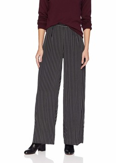 Three Dots Women's DA10 Stripe Printed Cropped Pant