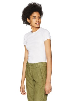 Three Dots Women's Desert Stripe Kennedy Short Tight top