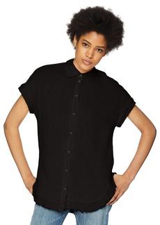 Three Dots Women's Double Gauze Loose Short Tunic