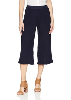 Three Dots Women's Double Gauze Mid Loose Pant