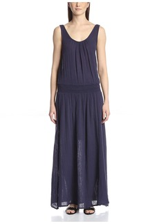 Three Dots Women's Double Scoop Maxi Dress  L