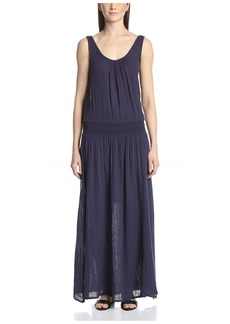 Three Dots Women's Double Scoop Maxi Dress  S
